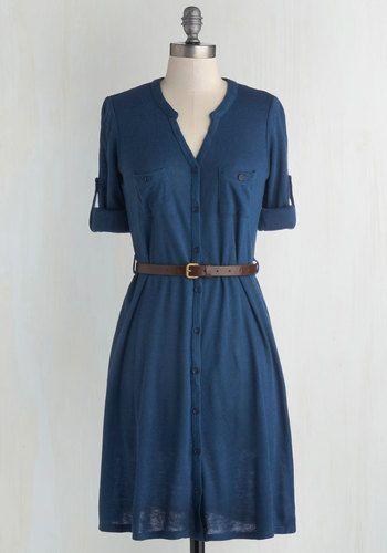 T.A.-Okay Dress in Blue, @ModCloth
