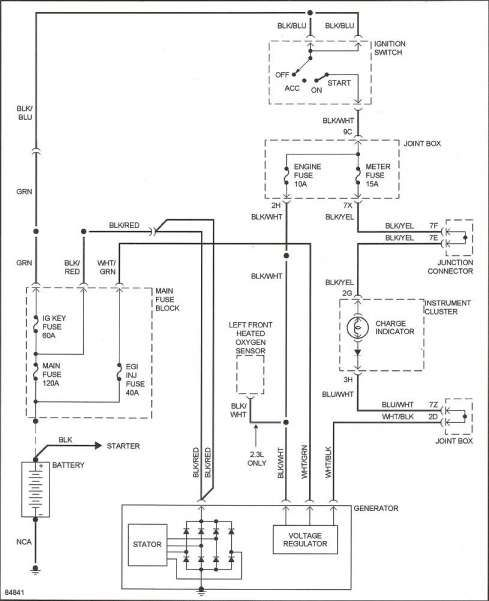 17 Car Alternator Wiring Diagram Car Diagram Wiringg Net Miata Electrical Diagram Alternator