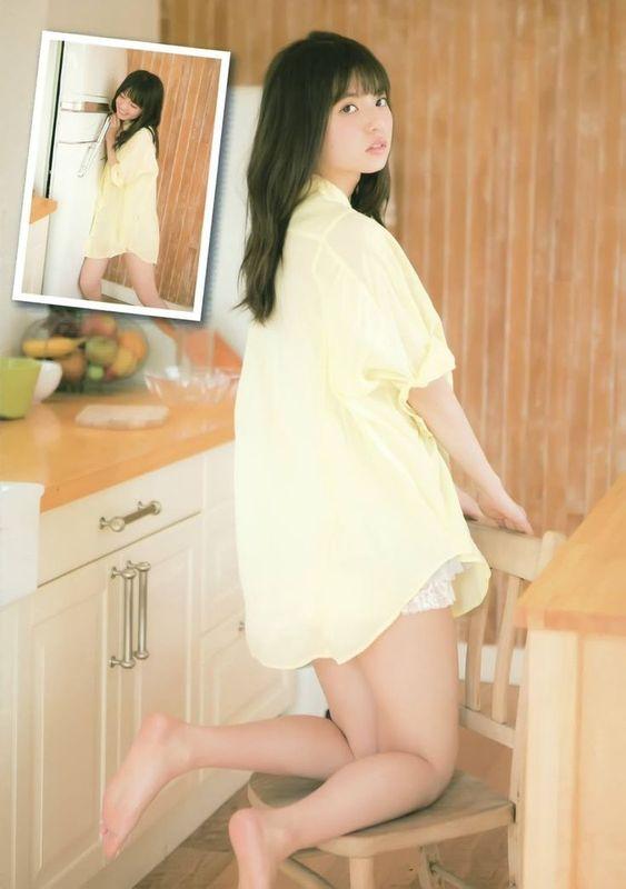 黄色いお洋服の齋藤飛鳥