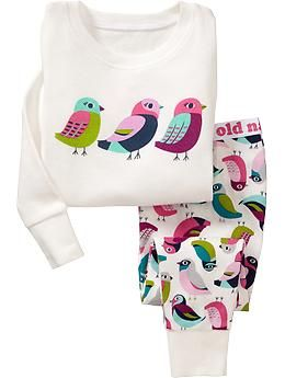 Bird PJ Sets for Baby   Old Navy