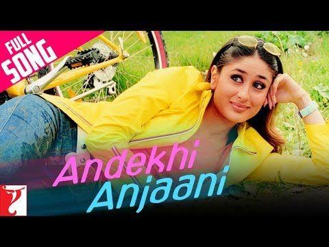 13 Andekhi Anjaani Full Song Mujhse Dosti Karoge Hrithik Kareena Lata Udit Youtube Mp3 Song Mp3 Song Download Songs