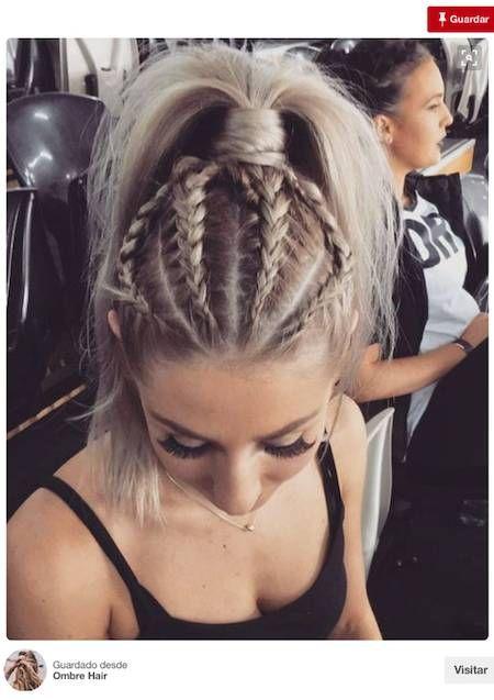 10 Peinados Inspirados En Pinterest Para Un Look De Invitada Perfecto Trenzas Pelo Largo Peinados Con Trenzas Peinados Deportivos