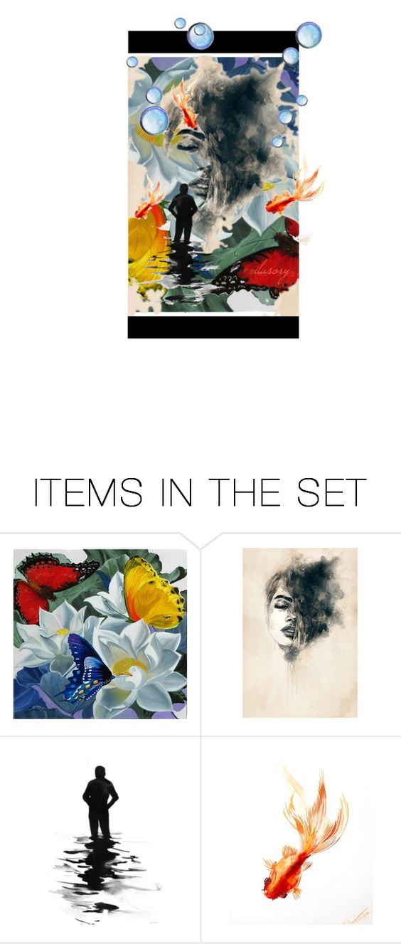 """24"" by rocio1984 ❤ liked on Polyvore featuring art, artset and artexpression"