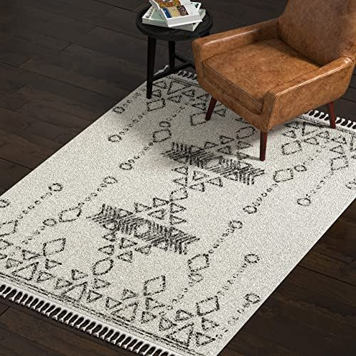 New Amazon Brand ฟฝ Rivet Contemporary Polypropylene Area Rug 5 3 X 7 7 Ivory Home Decor 142 99 Aristatopshop Offers On In 2020 Area Rugs Rugs On Carpet Rugs