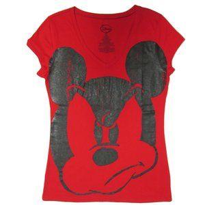 Disney Women's Mad Mickey Tee
