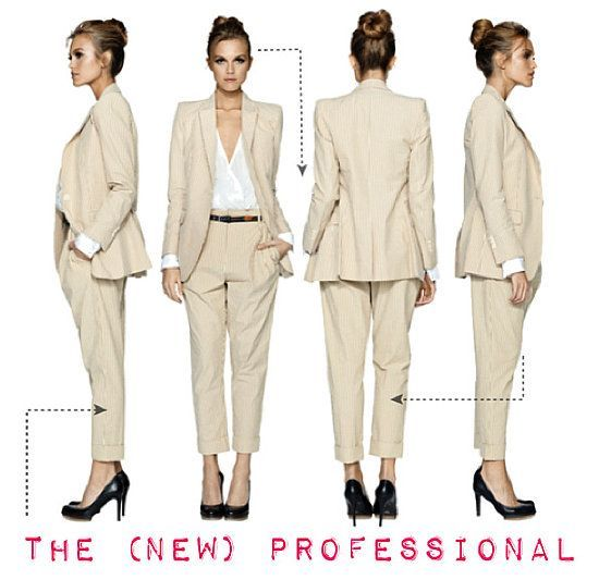 Lauren Conrad's dress code for business women-- @Jackie Godbold Gunn @Haylee Atkinson Parker @Zoe James Yoxall gotta read these so we look good for al our presentations