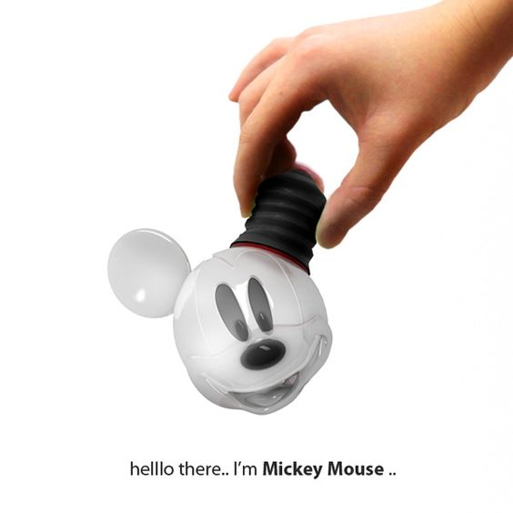 Mickey Mouse Bulb Concept by Hongkue Lee ^_^: Bulbs Awesome, Bulbs Kids, Bulbs Gotta, Mouse Lightbulb, Lightbulb Disney, Mickey Bulb, Lightbulb Concept, Mickey Light