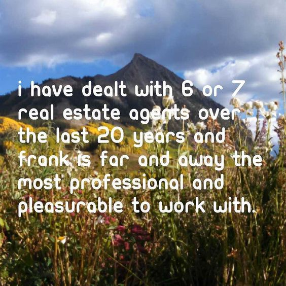 Always nice to receive another 5 star review! #crestedbutte #realestateagent #realestate  See more reviews at http://bit.ly/cbrealestatereview