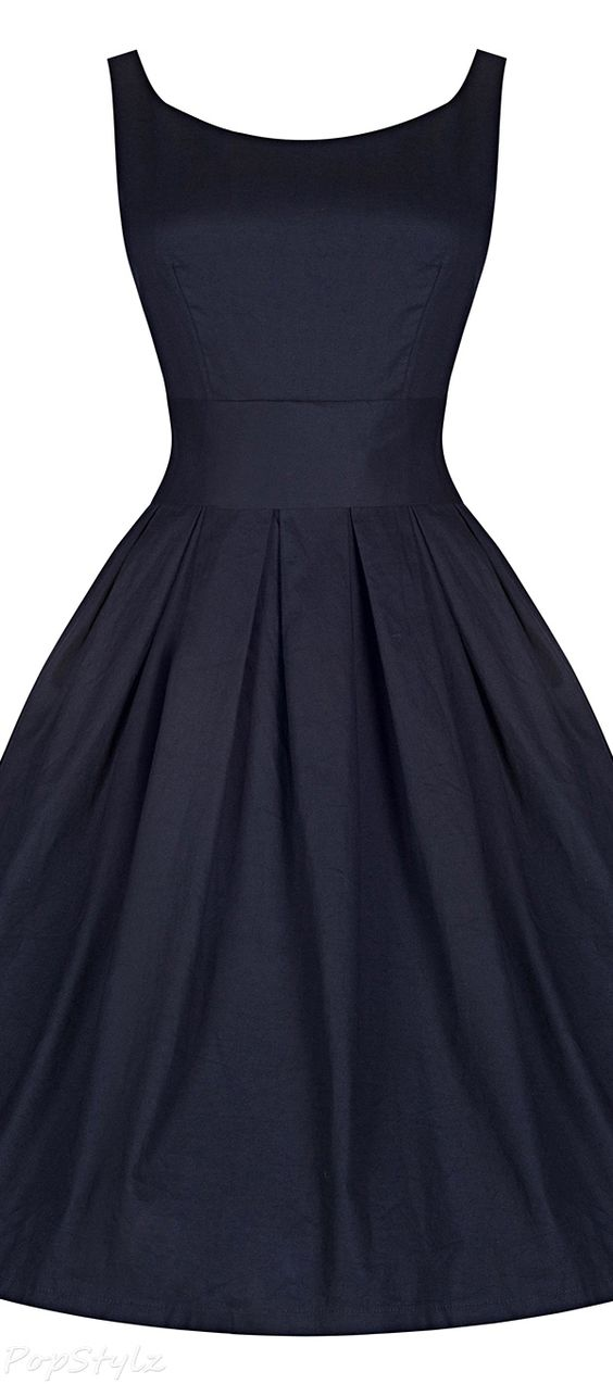 'Lana' Vintage 1950's Inspired Swing Dress