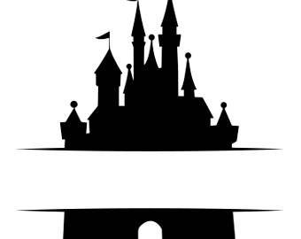 340x270 Disney Squad Svg Etsy Disney Castle Silhouette Castle Silhouette Disney Castle