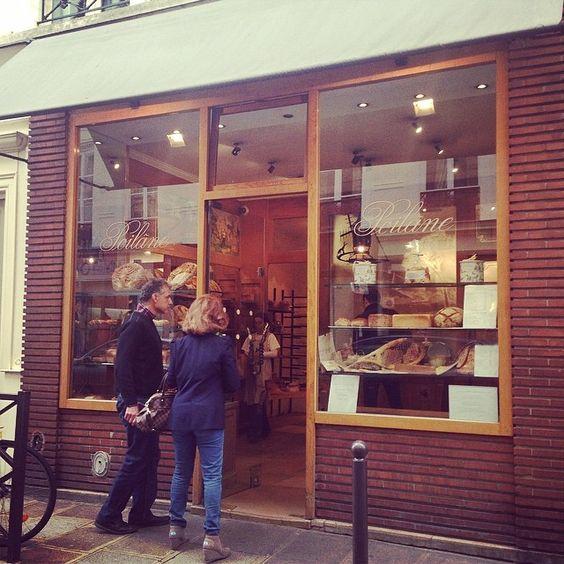 @shinonohana サンジェルマンデプレの老舗パン屋さんポワラーヌ。ここのクッキーが最高に美味しくて♡ 2