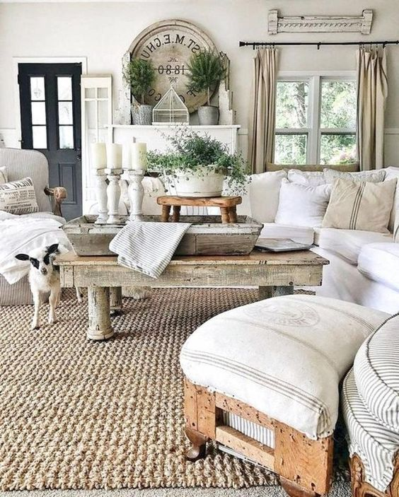 30 Comfy Country Living Room Ideas 2020 So Comfy You Wish They Were Yours French Country Living Room Contemporary Living Room Design Country Living Room Design