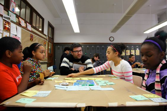 Quest to Learn- A pioneering public school in New York City that offers a promising new model for student engagement