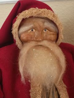 Heart-Felt Primitives - Susan Bonczyk  https://www.etsy.com/listing/196531468/ooak-handmade-primitive-santa?