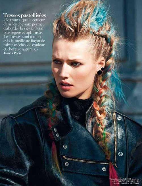 Punk Hairstyles Long Hair Long Hairstyles Punk Hair Hair Hairstyles Long Punk In 2020 Viking Hair Punk Hair Hair Styles