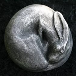 Dreaming Moon Hare, he matches my Reginald, large sitting hare. i think we might have a new hare coming to the house!