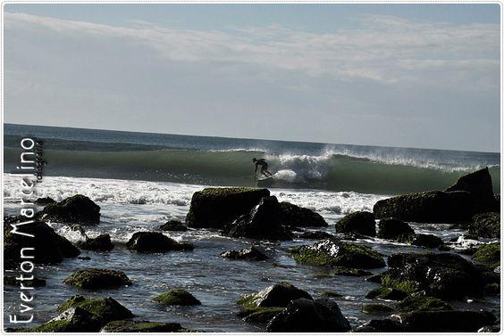 Surf nas pedras...