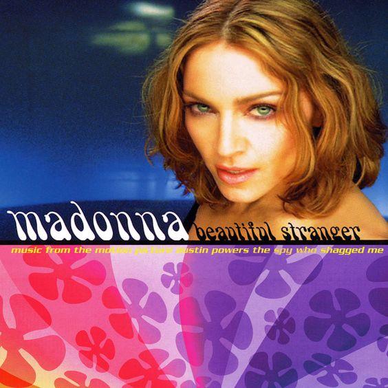 Madonna – Beautiful Stranger (single cover art)