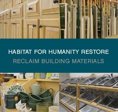 Habitat For Humanity Restores Are Nonprofit Home Improvement Stores Donation Centers That Sell New And