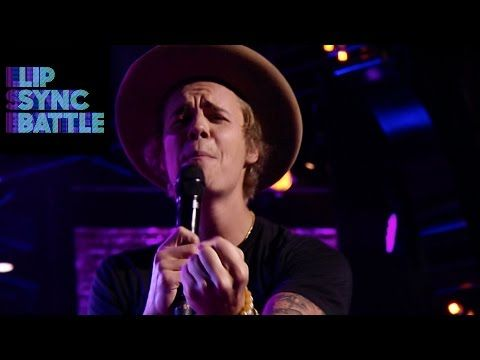 Justin Bieber Performs Big Girls Don't Cry | Lip Sync Battle - YouTube i laughed so hard