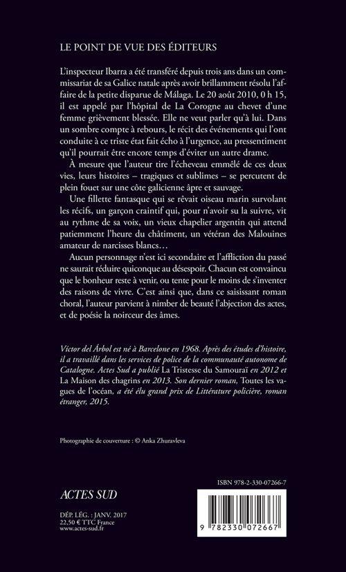 Actes Noirs - 2017-01 - Víctor del Árbol - La Veille de Presque Tout - Verso