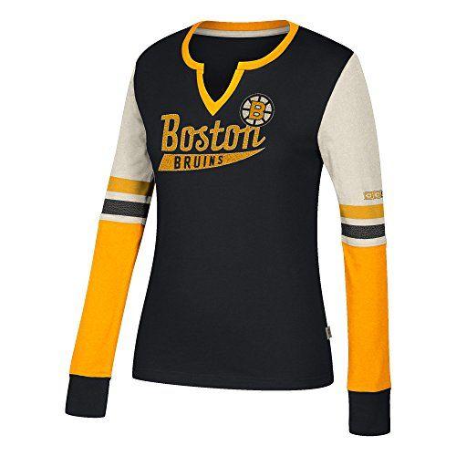 T shirt Long Sleeve adidas Crew NHL Pittsburgh Penguins