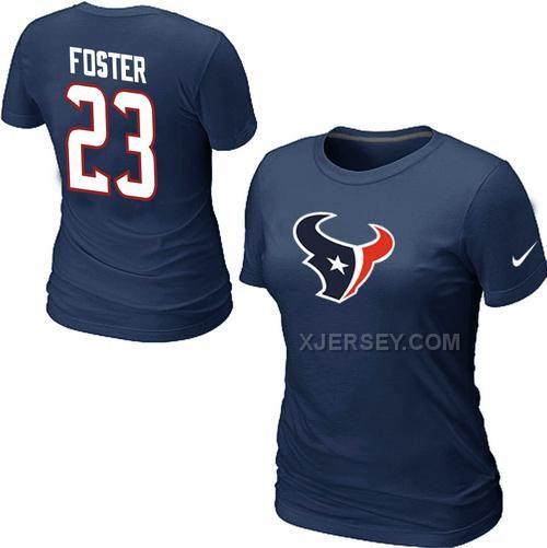 Nike Houston Texans Women's Go Big T-Shirt - Navy Blue