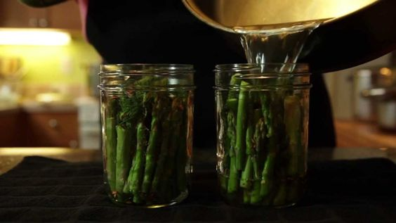 How to Can - Pickled Asparagus Recipe
