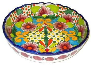 Mexico Talavera Pottery Bowl