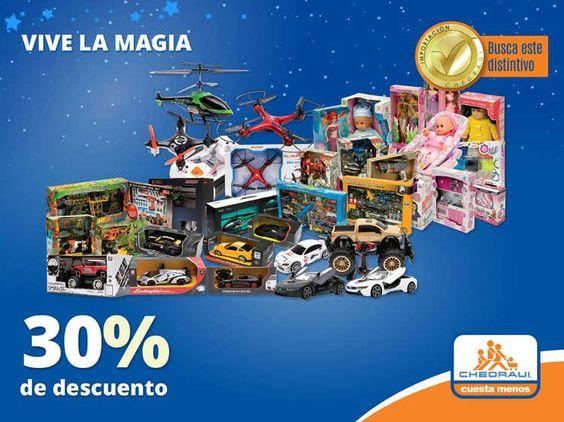Chedraui también tiene ofertas y promociones especiales para los regalos de los Reyes Magos: 20% de descuento en juguetes y muebles para bebé. 30% de descu