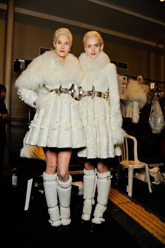 Alexander McQueen Fall 2012 Ready-to-Wear Beauty Photos - Vogue