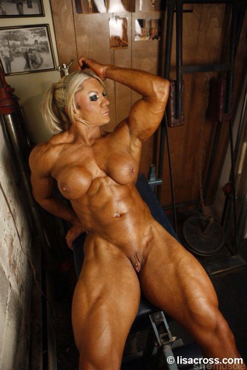 Naked Body Women Builder