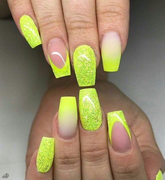 Newest 60 Neon Nail Polishes 2018