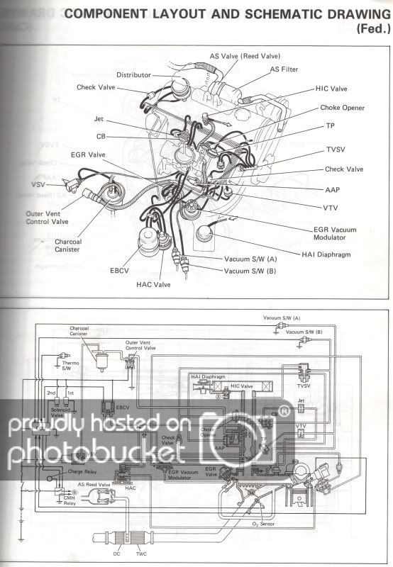 Toyota 4ac Vacuum Diagram 2 Toyota Corona Toyota Schematic Drawing