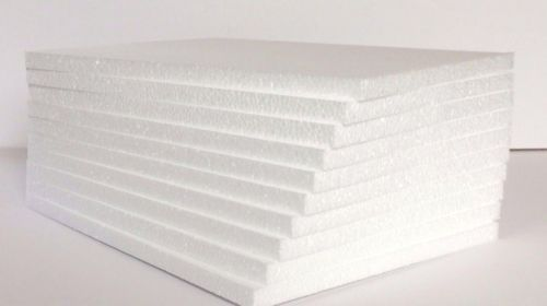 Styrofoam Sheets 8 1 2 X 11 X 1 2 Craft Quality Sheets Eps Styrofoam Styrofoam Sheets Quality Sheets Insulation Sheets