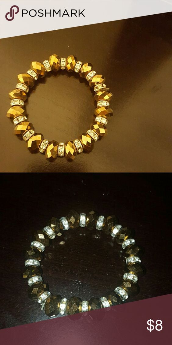 Costume jewelry Under tones of brown, with sliver rhinestones throughout the jewelry. Very pretty!! costume jewelry Jewelry Bracelets
