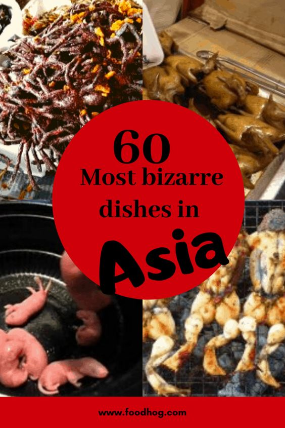 unusual food in asia