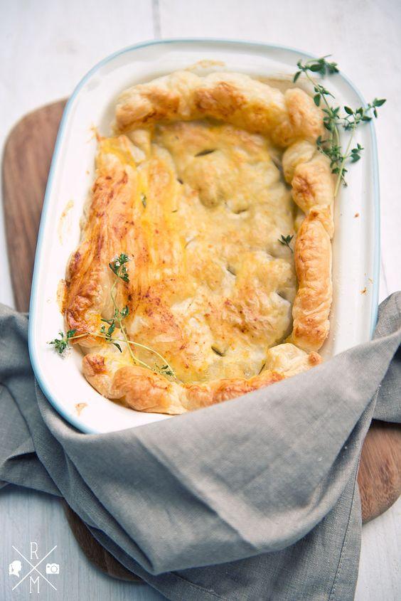 Veganer Pie mit Tofu und Pilzen in Anlehnung an Jamie Oliver 30-Minuten-Menüs ohne Milch, ohne Butter und ohne Fleisch | relleomein.de