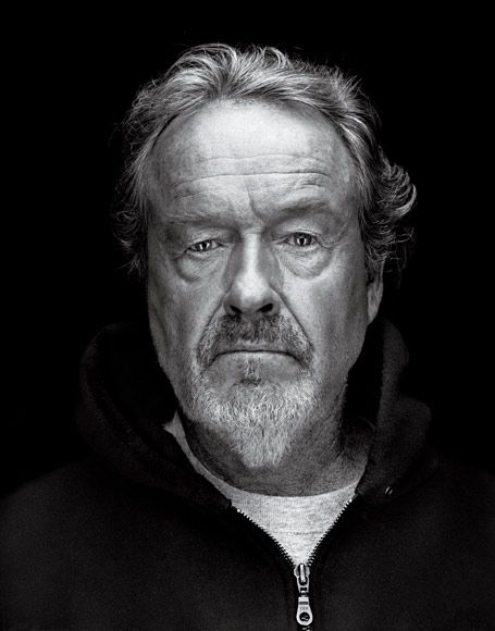 Ridley Scott -Great living legend director, from up North like myself. From art college, also like me.