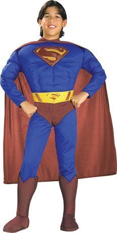 Deluxe Muscle Chest Superman Costume   Medium