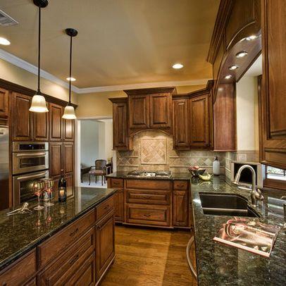 Traditional Kitchen Photos Kitchens Medium Quot Oak Cabinets