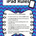 Guidelines for students when using the iPad or Tablet. Two color schemes to choose from. Enjoy!  You may also be interested in the iPad Assignment ...