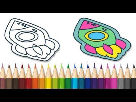 رسوم متحركة تلوين الصاروخ العجيب احصل على هدية Coloring The Rocket Chocolate Thumb