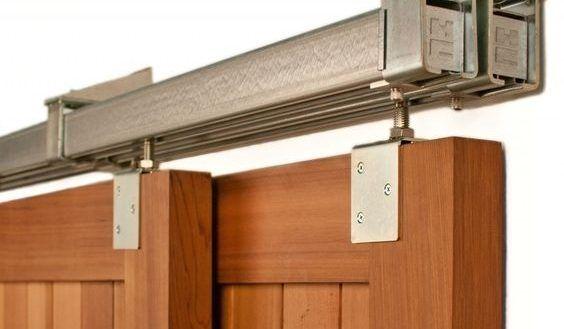Interior Bookcases Ideas Wonderful Sliding Bookcase Hardware Ideas Hidden In Sliding Bookcase Diy Barn Door Hardware Diy Sliding Barn Door Exterior Barn Doors