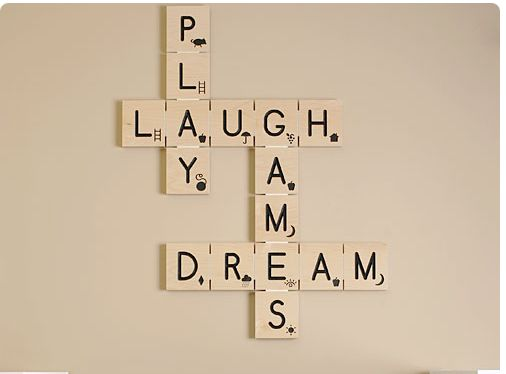 Scrabble Pieces Wall Decor : Diy scrabble wall art with step by instructions too