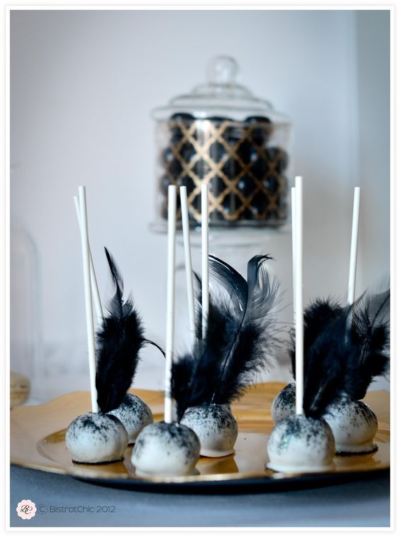 Feather Cake Pops