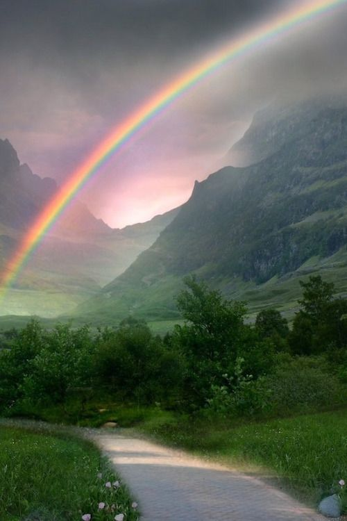 Ravishing Rainbow Photography For That Rare And Picturesque Look - Bored Art