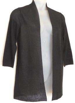 Chico's Ribbed Knit Cardigan