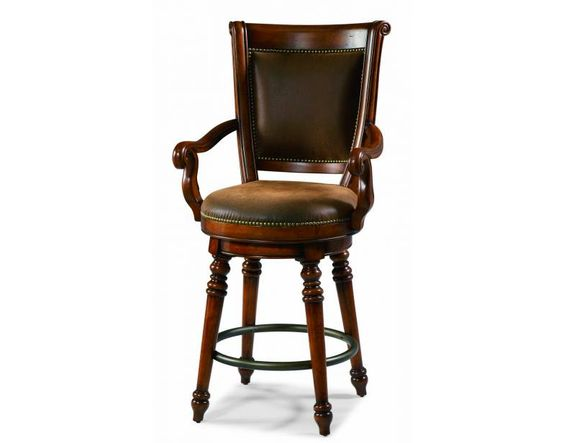 Waverly Place Memory Swivel Bar Stool Hooker Furniture McCreerys Home Furnishing