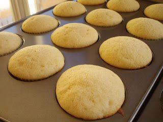 Naked Cupcakes: Vanilla Cupcake recipe